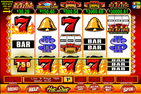 Bally's 'Blazing Sevens' Slot Machines are High Volatility