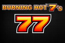 Burning Hot 7's Slot