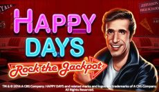 Happy Days: Rock the Jackpot Slot