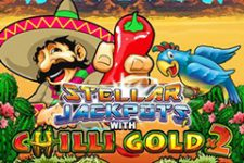 Stellar Jackpots with Chilli Gold x2 Slot