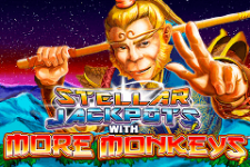 Stellar Jackpots with More Monkeys Slot